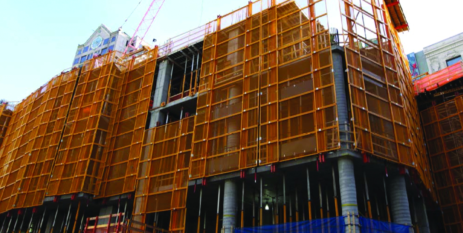 Cocoon Wraps Construction Sites In Safety