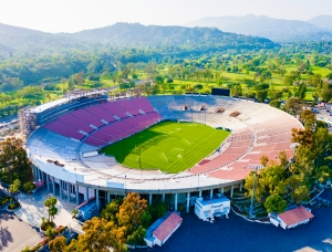 Consuming 38 billion gallons of water per day, California uses enough water each day to fill the Rose Bowl 81 times. Stock photo © David Sucsy