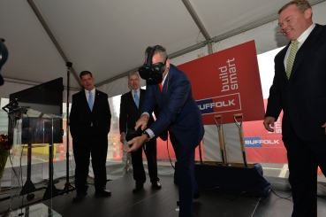 Suffolk Construction Breaks Ground on Headquarters