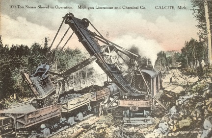 100_ton_steam_shovel,_circa_1919